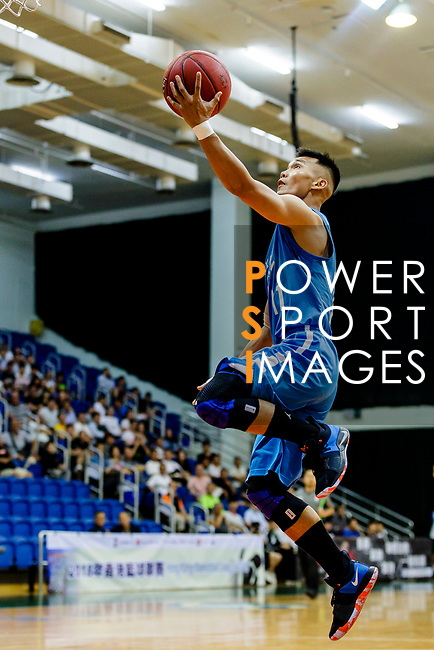 Tse Man Chun #11 of Fukien Basketball Team tries to score during the Hong Kong Basketball League game between Winling and Fukien at Southorn Stadium on May 29, 2018 in Hong Kong. Photo by Yu Chun Christopher Wong / Power Sport Images