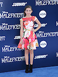 """Rowan Blanchard attends The World Premiere of Disney's """"Maleficent"""" held at The El Capitan Theatre in Hollywood, California on May 28,2014                                                                               © 2014 Hollywood Press Agency"""