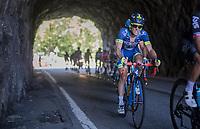 Thomas Degand (BEL/Wanty-Groupe Gobert)<br /> <br /> stage 7: Aoste > Alpe d'Huez (168km)<br /> 69th Critérium du Dauphiné 2017