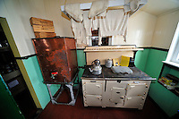 A cuppa and dry underwear - The kitchen circa the 1950's at Port Lockroy research station.