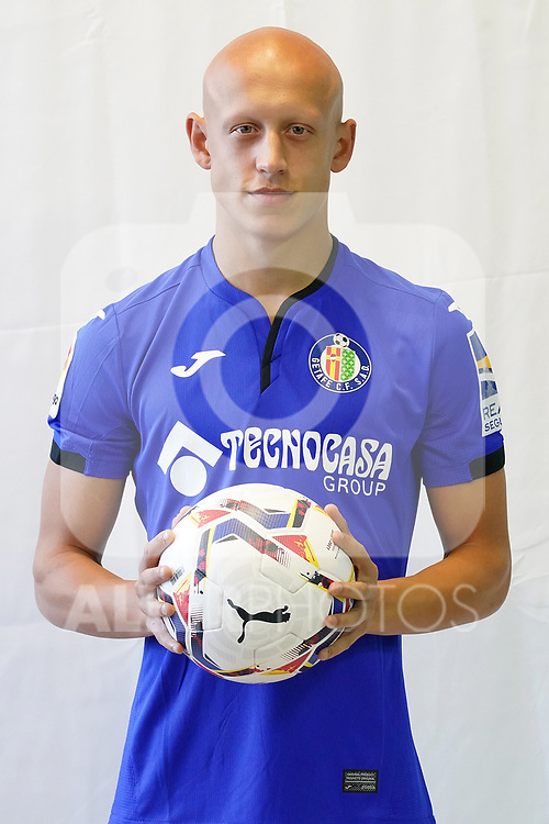 Getafe CF's Victor Mollejo during official photo session. October 7, 2020. (ALTERPHOTOS/Acero)