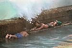 Scenes of Waikiki Beach, Honolulu, HI.
