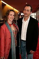 April 3rd 2006, Montreal (QC) CANADA<br /> Jorane (L), Luc Picard (R) , Premiere Un Dimanche a Kigali<br /> Photo : (c) 2006 Pierre Roussel / Images Distribution