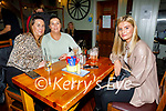 Enjoying the evening in the Failte in Killarney on Saturday, l to r: Olivia and Priscilla Lonergan and Chelsea O'Mahoney from Rathmore.