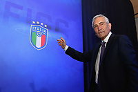 ROME, ITALY - FEBRUARY 22:  Gabriele Gravina poses after being re-elected as President of Italian Football Federation (FIGC) during the FIGC Elective Assembly at Cavalieri Waldorf Astoria Hotel on February 21, 2021 in Rome, Italy.  <br /> Photo Marco Rosi / FIGC / Insidefoto
