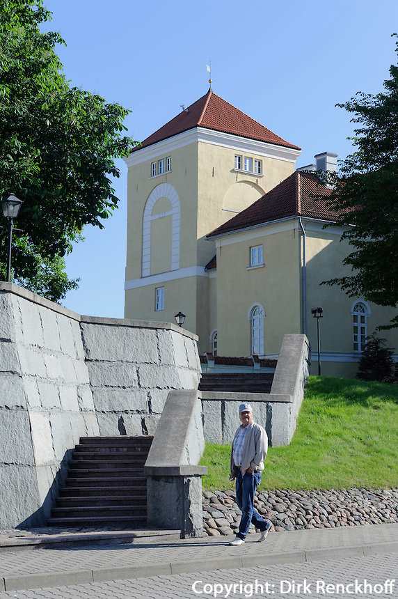 Burg von Ventspils, Lettland, Europa