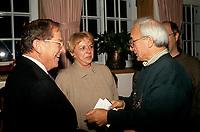 Jean Lapointe et Yvon Deschamps, Oct 1992<br /> <br /> <br /> PHOTO D'ARCHIVE : Agence Quebec Presse