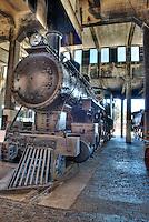 Steam Locomotive 1, Roundhouse Railroad Museum, Savannah, GA