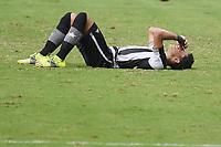 Rio de Janeiro (RJ), 16/05/2021 - Botafogo-Vasco - Jogador do Botafogo comemor,durante partida contra o Vasco,válida pelas finais da Taça Rio,realizada no Estádio Nilton Santos (Engenhão), na zona norte do Rio de Janeiro,neste domingo (16).