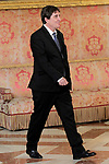 Spanish writer and Director of Cervantes Institute Luis Garcia Montero during the reception of King Felipe VI of Spain at the Royal Palace in honor of the President of the French Republic Emmanuel Macron. July 26,2018. (ALTERPHOTOS/Acero)