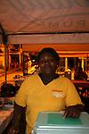 Friday night fish fry at the fishing village of Anse La Raye, St. Lucia