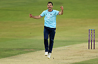 Ryan ten Doeschate of Essex celebrates taking the wicket of Lee Thomason during Essex Eagles vs Cambridgeshire CCC, Domestic One-Day Cricket Match at The Cloudfm County Ground on 20th July 2021
