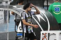 Rio de Janeiro (RJ), 08/02/2021 - Botafogo-Grêmio - Matheus Nascimento jogador do Botafogo comemora seu gol,durante partida contra o Grêmio,válida pela 35ª rodada do Campeonato Brasileiro,realizada no Estádio Nilton Santos (Engenhão), na zona norte do Rio de Janeiro,nesta segunda-feira (08).