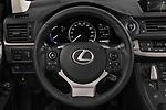 Car pictures of steering wheel view of a 2018 Lexus CT Executive Line 5 Door Hatchback
