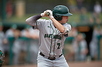 Dartmouth Big Green right fielder Matt Feinstein (23) at bat during a game against the USF Bulls on March 17, 2019 at USF Baseball Stadium in Tampa, Florida.  USF defeated Dartmouth 4-1.  (Mike Janes/Four Seam Images)