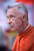 Cardinal Luis Francisco Ladaria Ferrer,Pope Francis leads a consistory for the creation of five new cardinals  at St Peter's basilica in Vatican on  June 28, 2018
