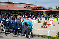 during the Showjumping. 2021 SUI-FEI European Eventing Championships - Avenches. Switzerland. Sunday 26 September 2021. Copyright Photo: Libby Law Photography