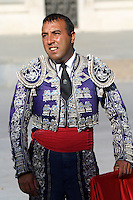 Bull Fighter or Matador in Madrid, Spain