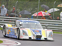 The #10 Ford Dallara of Max Angelelli and Brian Frisselle races to victory.  Montreal 200, Circuit Gilles Villenueve, Montreal Quebec, Canada, August 29, 2009.  (Photo by Brian Cleary/www.bcpix.com).
