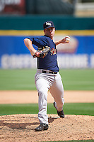 Scranton/Wilkes-Barre RailRiders relief pitcher Tyler Webb (38) delivers a pitch during a game against the Buffalo Bisons on July 2, 2016 at Coca-Cola Field in Buffalo, New York.  Scranton defeated Buffalo 5-1.  (Mike Janes/Four Seam Images)