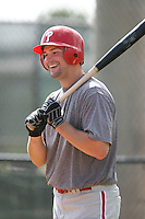 March 18th 2008:  Matt Spencer of the Philadelphia Phillies minor league system during Spring Training at the Carpenter Complex in Clearwater, FL.  Photo by:  Mike Janes/Four Seam Images