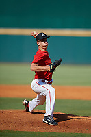 Luke Ellis (6) of St. Benedict At Auburndale High School in Somerville, TN during the Perfect Game National Showcase at Hoover Metropolitan Stadium on June 20, 2020 in Hoover, Alabama. (Mike Janes/Four Seam Images)