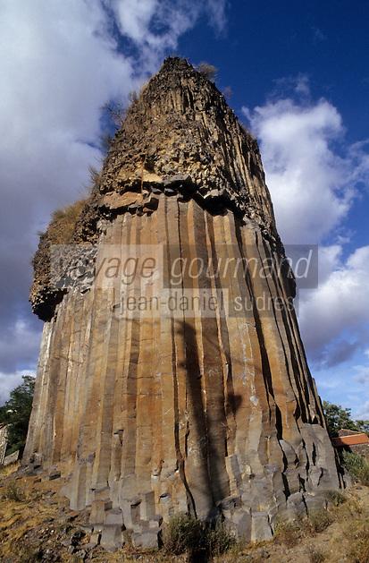 Europe/France/Auvergne/43/Haute-Loire/Chilhac: Les orgues/falaises basaltiques