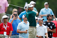 3rd July 2021, Detroit, MI, USA;   Riche Werenski hits his tee shot on the fifth hole on July 3, 2021 during the Rocket Mortgage Classic at the Detroit Golf Club in Detroit, Michigan.