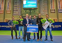 December 21, 2014, Rotterdam, Topsport Centrum, Lotto NK Tennis, Verenigingsleraar van het jaar<br /> Photo: Tennisimages/Henk Koster