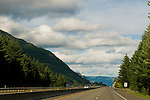 I-84 in the Columbia River Gorge, Oregon