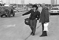 - Israeli soldiers of military reserve at Erez crossing with the Gaza Strip....- militari israeliani della riserva al valico di Erez con la striscia di Gaza