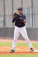 FCL Yankees first baseman Jose Martinez (36) during a game against the FCL Tigers East on July 27, 2021 at the Yankees Minor League Complex in Tampa, Florida. (Mike Janes/Four Seam Images)