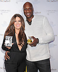 """Khloe Kardashian Odom and Lamar Odom at The Fragrance Launch event for """"Unbreakable by Khloe + Lamar"""" held at The Redbury Hotel in Hollywood, California on April 04,2011                                                                               © 2010 Hollywood Press Agency"""