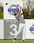 SUZHOU, CHINA - APRIL 17:  Thongchai Jaidee of Thailand tees off on the 3rd hole during the Round Three of the Volvo China Open on April 17, 2010 in Suzhou, China. Photo by Victor Fraile / The Power of Sport Images