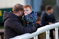 A young fan seen during the English National League match between Richmond and Blackheath  at Richmond Athletic Ground, Richmond, United Kingdom on 4 January 2020. Photo by Carlton Myrie.