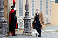 The Senator Luigi di Marzio out of the Senate during the vote of confidence in the new Government. Rome (Italy), February 17th 2021<br /> Photo Samantha Zucchi Insidefoto