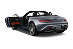 Car images close up view of a 2019 Mercedes Benz AMG GT base 2 Door Roadster doors
