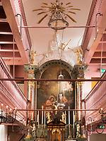 Geheimkirche Museum Ons' Lieve Heer op Solder, Oudezijds Voorburgwal 40, Amsterdam, Provinz Nordholland, Niederlande<br /> secret church Museum Ons' Lieve Heer op Solder, Oudezijds Voorburgwal 40, Amsterdam, Province North Holland, Netherlands