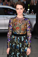 """Claire Foy<br /> arriving for the London Film Festival 2017 screening of """"Breathe"""" at the Odeon Leicester Square, London<br /> <br /> <br /> ©Ash Knotek  D3318  04/10/2017"""