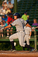Jake Jefferies (8) of the Charlotte Stone Crabs during a game vs. the Daytona Cubs June 1 2010 at Jackie Robinson Ballpark in Daytona Beach, Florida. Charlotte won the game against Jupiter by the score of 4-1.  Photo By Scott Jontes/Four Seam Images