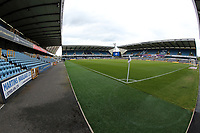General view of the Den before Millwall vs Blackburn Rovers, Sky Bet EFL Championship Football at The Den on 14th July 2020