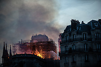 Notre DAme in fiamme  15/4/2019 Notre dame in fire