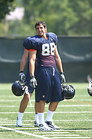 Virginia's Paul Freedman during open spring practice for the Virginia Cavaliers football team August 7, 2009 at the University of Virginia in Charlottesville, VA. Photo/Andrew Shurtleff