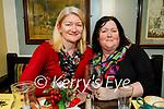 Margaret Mahoney and Katherina O'Neill from Ballylongford enjoying the evening in the Brogue Inn on Friday.