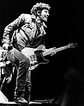 Bruce Springsteen 1984.© Chris Walter.
