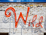 """Wild"" neon sign, Wells, Nevada"