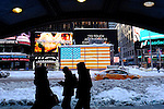 Winter Storm Jonas the second Biggest ever in New York