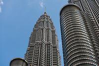 Petronas Twin Towers Close Up, Kuala Lumpur, Malaysia