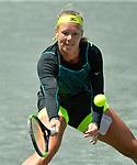 April 8,2018:  Kiki Bertens (NED) defeated Madison Keys (USA) 6-4, 6-7, 7-5, at the Volvo Car Open being played at Family Circle Tennis Center in Charleston, South Carolina.  ©Leslie Billman/Tennisclix/CSM