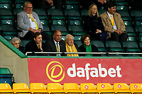 3rd October 2020; Carrow Road, Norwich, Norfolk, England, English Football League Championship Football, Norwich versus Derby; Norwich City owner Delia Smith with family and friends present during the game